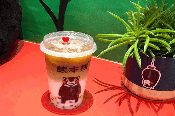 熊本熊奶茶加盟费多少