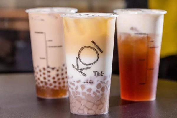 koi奶茶店加盟费