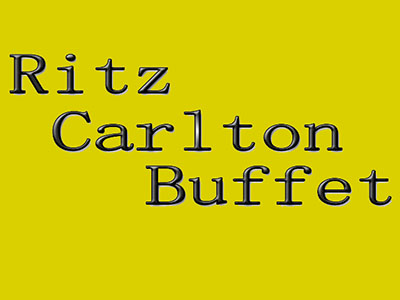 Ritz Carlton Buffet